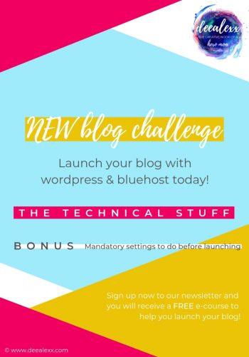 New blog challenge - Feb. 2019